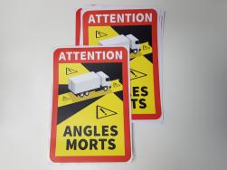 naklejka Angles Morts FR.
